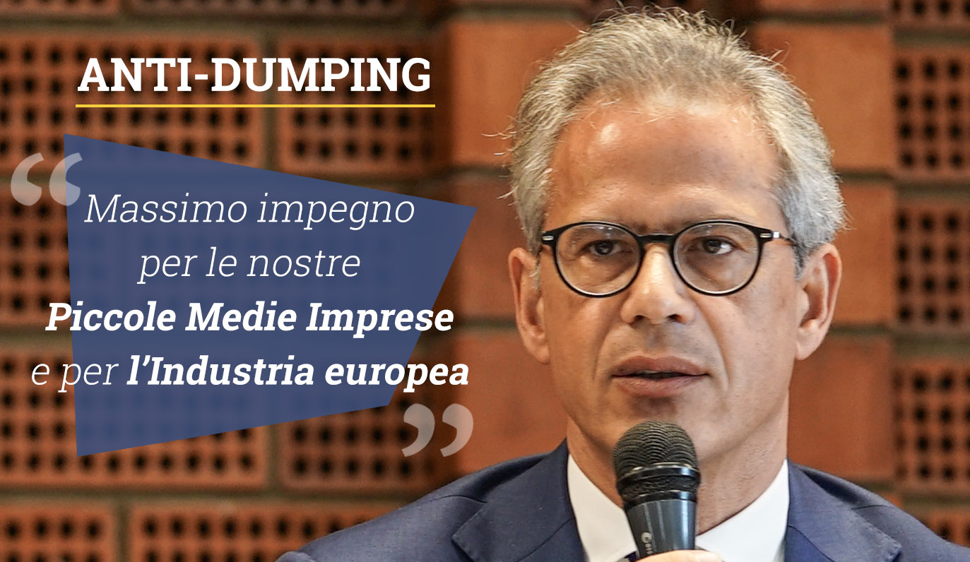 Anti-Dumping, Cicu interviene sul testo definitivo