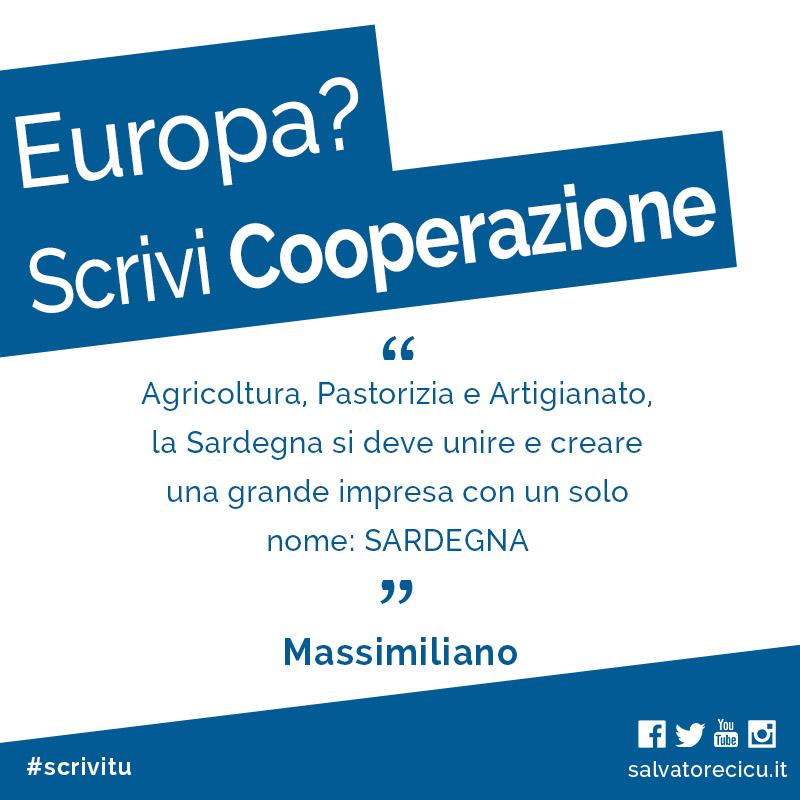 Europa? Scrivi Cooperazione