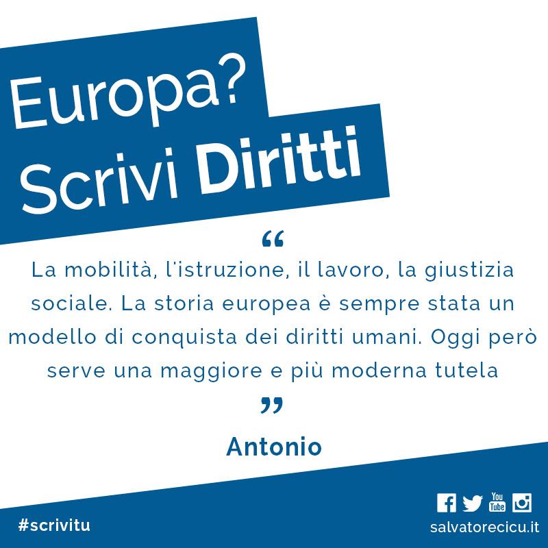 Europa? Scrivi Diritti