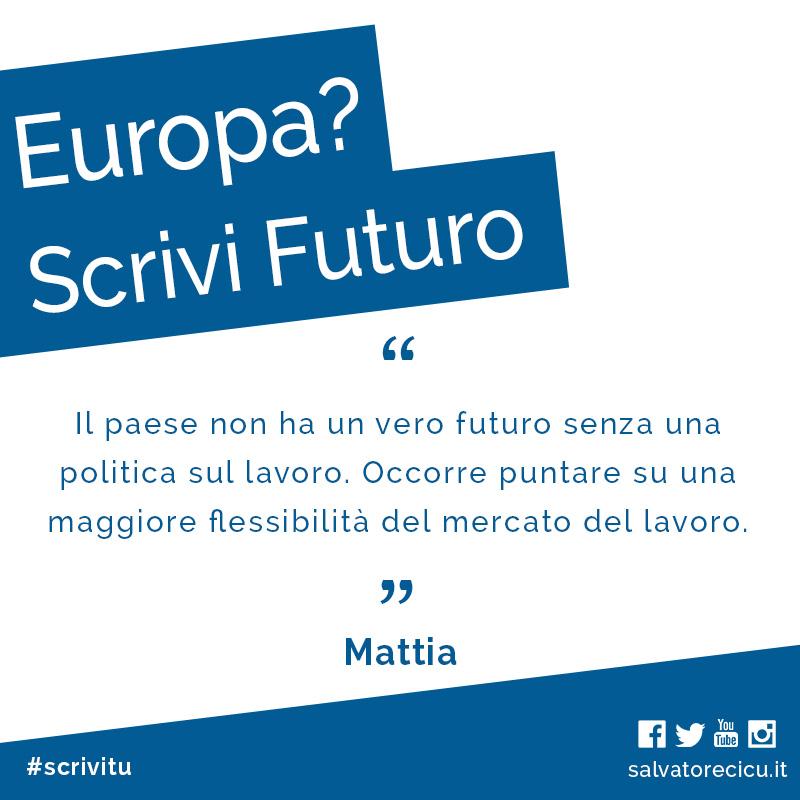 Europa? Scrivi Futuro